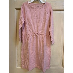 Gap Pink tie waist dress. Girls size medium